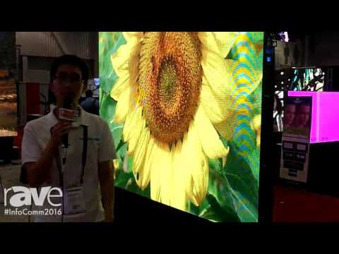 InfoComm 2016: Gloshine Features Its 2.9mm Display