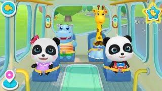 Baby Panda Bus Driving | Wheels On The Bus | Educational App | Kids Games | Gameplay Video | BabyBus