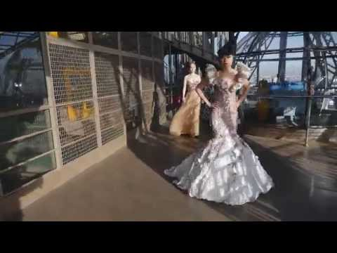 EIFFEL TOWER'S FIRST CATWALK PRODUCED BY JESSICA MINH ANH