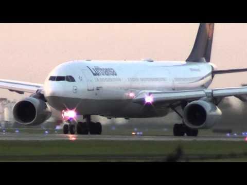 Lufthansa A333 departing YUL on 24L