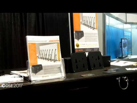 DSE 2017: ADAPTIVE Shows Loc-N-Load Mobile Cart For Video Walls