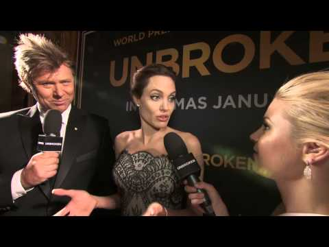 Unbroken: Director Angelina Jolie Australian World Premiere Movie Interview