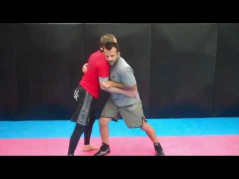 Kenny Johnson BOLT Wrestling Clinch Technique at Leicester Shootfighters MMA Academy Image 1