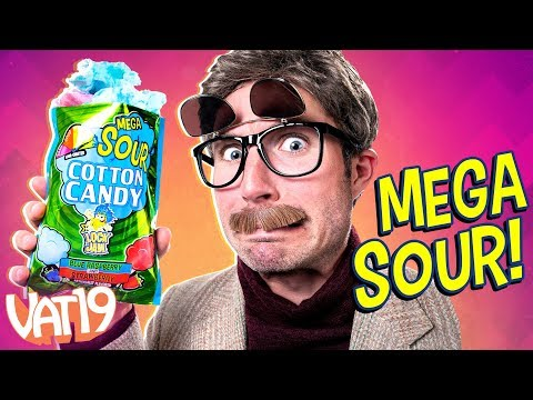 The SOUREST Cotton Candy EVER!