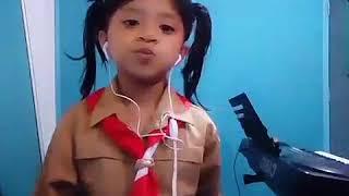 Teenebelle - Tersenyumlah  cover by kaila wijaya -  purwa caraka  studio padang