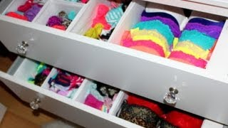 Bras & Panties Storage Tips!