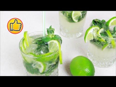 Безалкогольный Мохито - Как приготовить дома   Non-Alcoholic Mojito