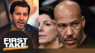 Will Cain on LaVar Ball: He is a carnival-barking snake oil salesman and a fraud | First Take | ESPN
