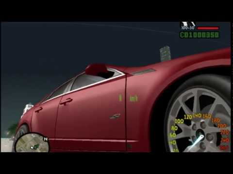 CADILLAC CAR review   GTA SANANDREAS