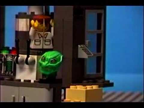 Lego Spiderman Green Goblin Video