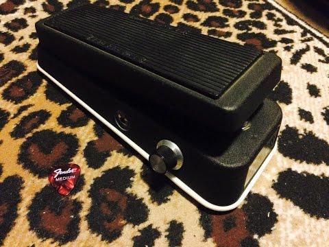 Dunlop JH-1 Jimi Hendrix Wah with Q-mod !