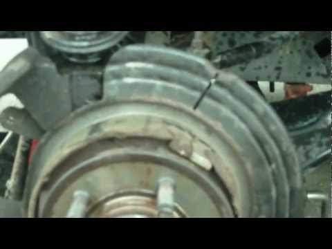 Ford Explorer Independent Rear Suspension. Rear Wheel Bearing and Hub Replacement