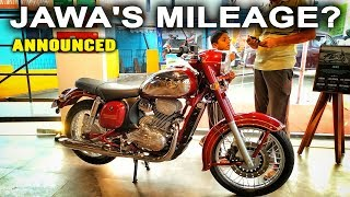 Jawa's Mileage | Jawa and 42 Official Fuel Efficiency | Ajith The Travel Buddy