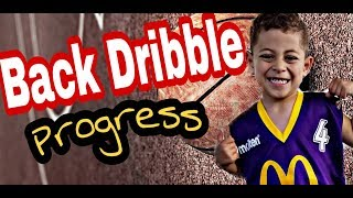 Jc the bless 5 years old basketball back drible progress