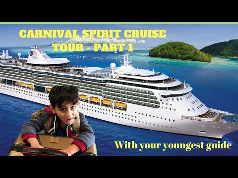 Carnival Spirit Cruise tour - Sydney - Part 1