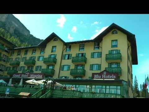 ITALY Grand Hotel in Misurina (Dolomites) (hd-video)