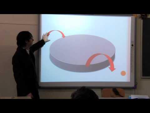 Lezione di Geografia scuola Media Istituto Sociale Torino