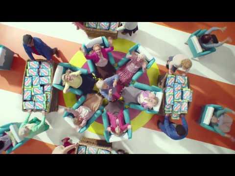 NEW Shreddies Advert 2014 - Choreographer Julie Kavanagh