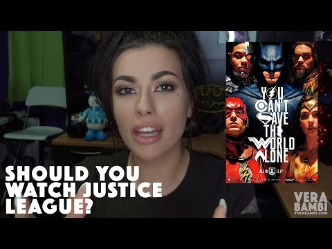 JUSTICE LEAGUE REVIEW   MY THOUGHTS. VERA BAMBI