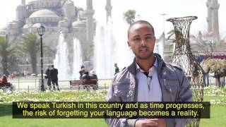 Oromo Student in Istanbul, Turkey