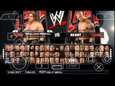 WWE Smackdown vs Raw 2011 PPSSPP Gameplay