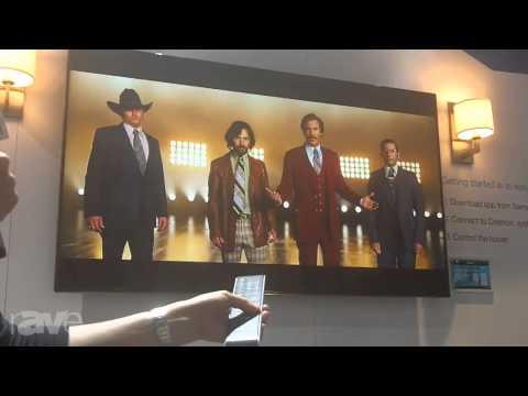 CEDIA 2013: Crestron Demonstrates the Crestron App for Samsung Smart TV