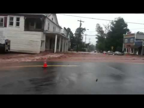 Hurricane Irene in Roxbury New york Part 1