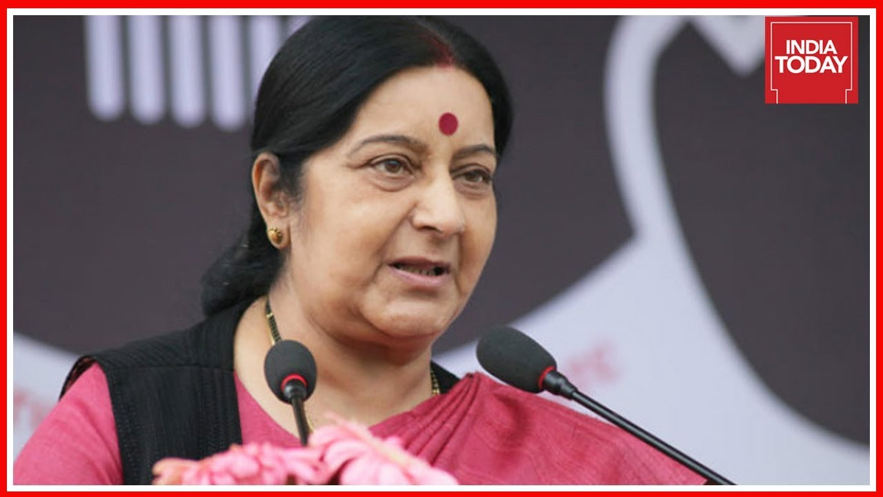 Sushma's Answer In Parliament Rattles Opposition