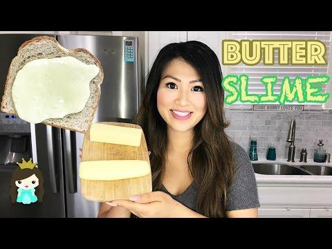 DIY BUTTER SLIME! Super Easy Butter Slime Recipe