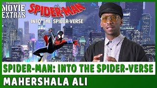 SPIDER-MAN: INTO THE SPIDER-VERSE | Mahershala Ali talks about his experience making the movie
