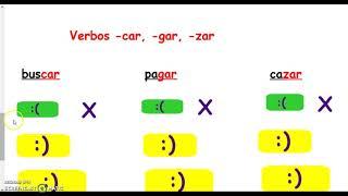 Subjuntivo con verbos irregulares y -car, -gar, -zar