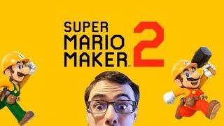 MARIO MAKER 2 LOOKS SO FREAKING GOOD (Nintendo Direct Reaction and Analysis)