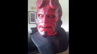 Speed painting Hellboy 1:1 life size bust