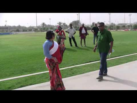 2015 Bakmaha ulela Doha Qatar Dinu Dancing Academy විකට ඇදුම් තරගය