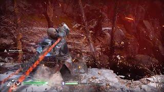 God of War 4 NG+ Baldur Boss Battle vs Power of Zeus Kratos (GMGOW+) GoW 2018 New Game+ Best Armor