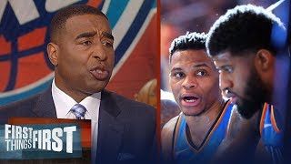 Cris Carter on why the Oklahoma City Thunder's Big Three experiment is over | FIRST THINGS FIRST