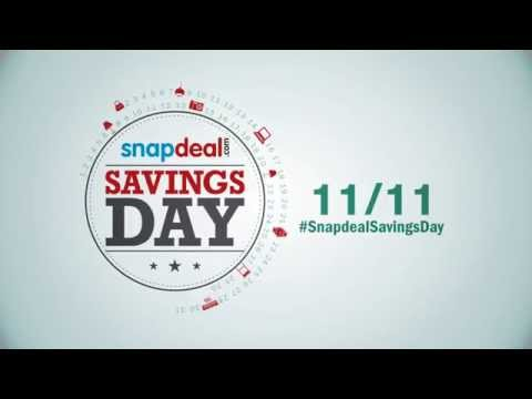 Snapdeal Savings Day - 11/11