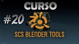 Curso SCS Blender #20 - Criando DEF dos ACESSÓRIOS (opcionais) para o caminhão ETS2 / ATS - AULA 2.