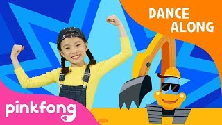 Dig It Up Excavator | Dance Along | Animal Song | Pinkfong Songs for Children