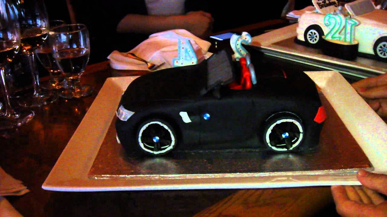 Bmw E89 Z4 Birthday Cake Youtube