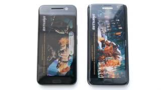 Сравнение производительности HTC 10 и Samsung Galaxy S7 edge (perfomance)