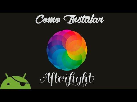 Como Baixar e Instalar o Afterlight Pro(ROOT)-Android