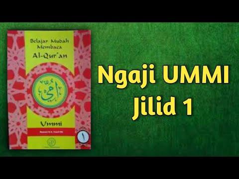 Ngaji UMMI Jilid 1 lengkap dengan audio dan slide halaman