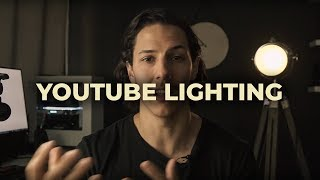 YOUTUBE LIGHTING SETUP On A Budget for Beginners!