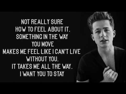 Charlie Puth - Stay (Lyrics)