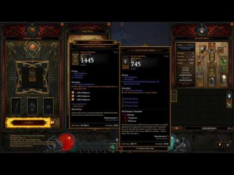 Diablo 3 : Legacy of Nightmares Level 1 Gear Review
