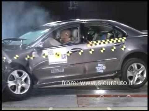 Краш-тест EuroNCAP Honda Legend (2007)