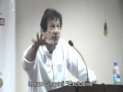 Imran Khan at FAST University Karachi