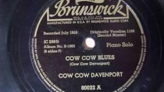 COW  COW  BLUES  (COW  COW  DAVENPORT)