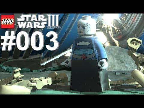 Let's Play LEGO Star Wars 3 The Clone Wars #003 Der unsichtbare Feind [Together] [Deutsch]
